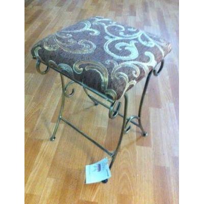 Kovová dekoračná stolička M-046