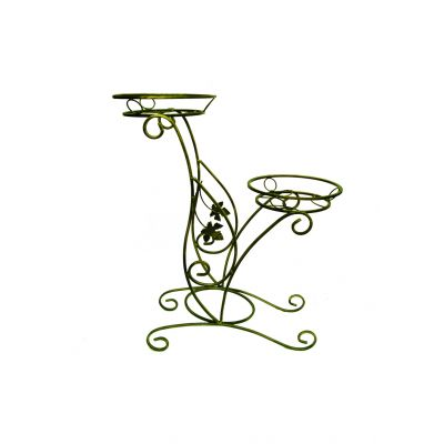 Kovácsoltvas virágtartó C-014