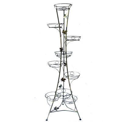 Kovový stojan na kvety vežovitý 9 W-009