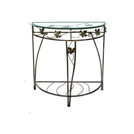 Kovový dekoračný stol M-049