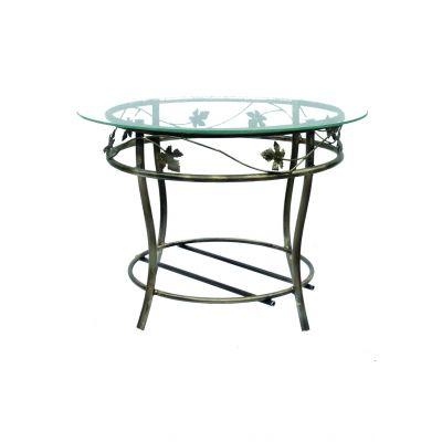Kovový dekoračný stôl M-050