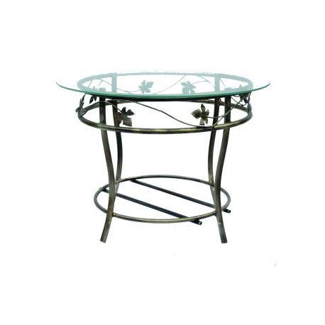Kovový dekoračný stol M-050