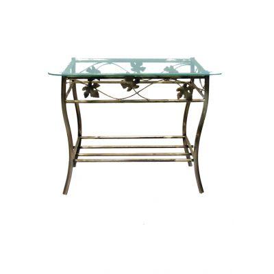 Kovový dekoračný stol M-051