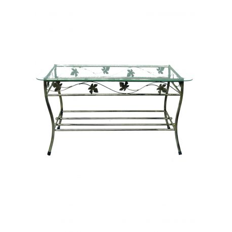 Kovový dekoračný stol M-052