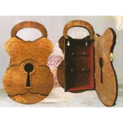 Fa kulcsszekrény H-003