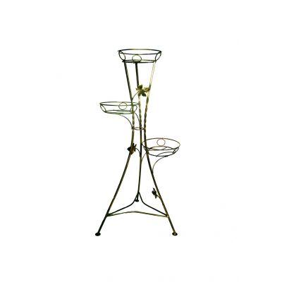 Kovový stojan na kvety vežovitý 3 W-007